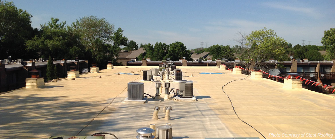 spray foam roofing systems for Missouri